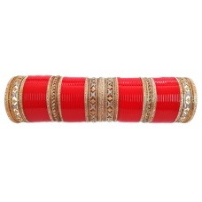 Stunning Artificial Diamond Wedding Chura, j-212