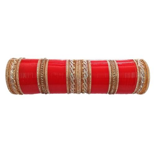 buy indian ad bridal wedding chura american diamond chura for