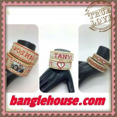 Recently shipped orders - Couple name bangles
