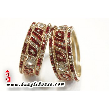 Designer Brass Bangle Set 7