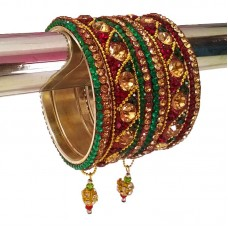 Party Wear Hanging Bangle Set