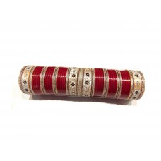 Red Stunning Bridal Chura 405
