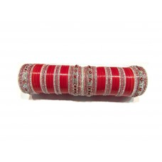 Designer Red Chura for Bridal - Nakhra