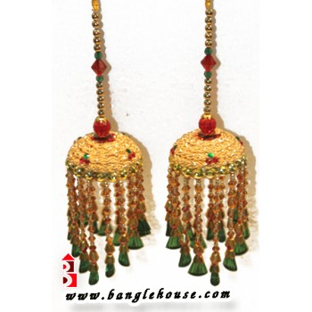 Golden Kalira For Brides (4 No. kalira)