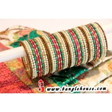Multi Color Matching Bangle Set -1