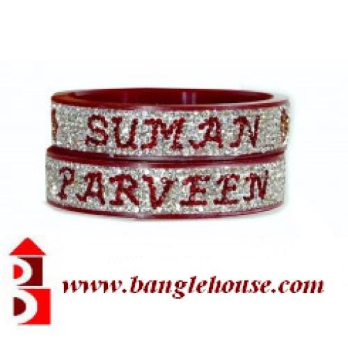kada with name bridal bangles with name designer wedding bangles