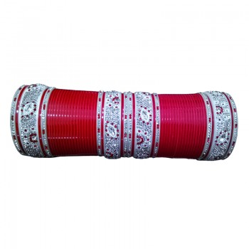 Red Indian Bridal Chura - Z-127