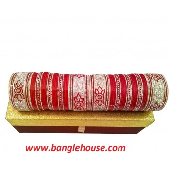 Chahat - Bridal Chura in Red Color